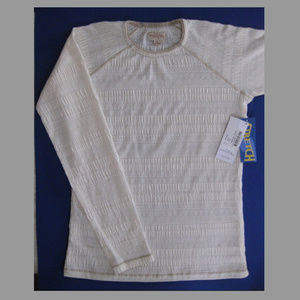 NWT Sports top S Off white Long sleeve T-shirt Tee